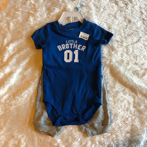 c0f9ec2c0 Carter's Matching Sets | Carter Little Brother Set Nwt | Poshmark